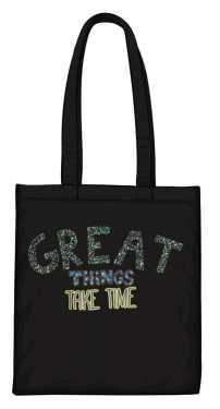 Great things torba czarna