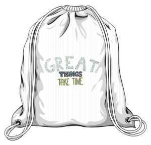 Great things plecak biały