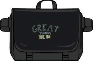 Great things torba na laptopa czarna