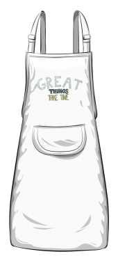 Great things fartuszek biały