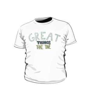 Great things koszulka dla dzieci biała