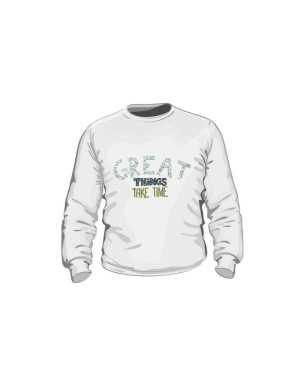 Great things bluza dla dzieci biała
