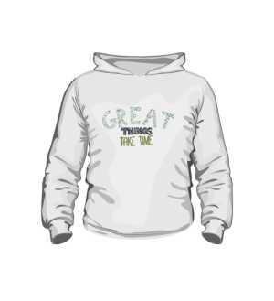 Great things bluza dla dzieci K biała
