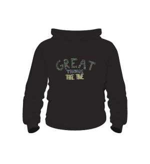 Great things bluza dla dzieci K czarna