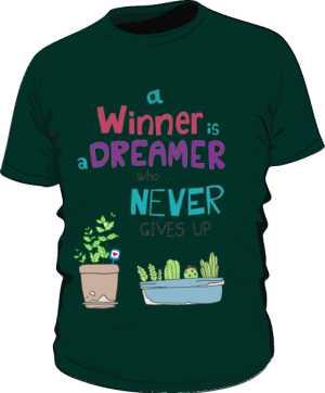 Winner dreamer koszulka P zielona
