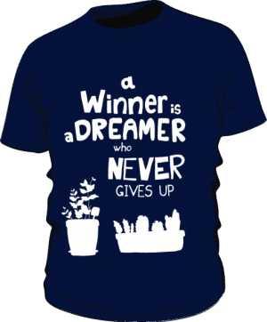 Winner dreamer koszulka basic granat