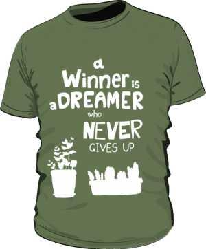 Winner dreamer koszulka basic khaki