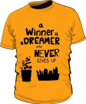 Winner dreamer koszulka premium pom