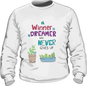 Winner dreamer bluza biała