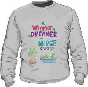 Winner dreamer bluza szara