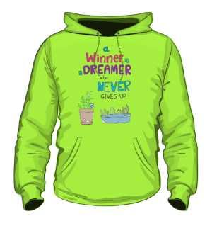 Winner dreamer bluza L trawiasta