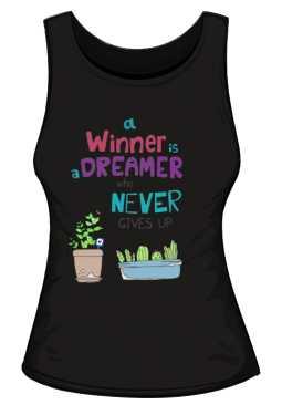 Winner dreamer top czarny