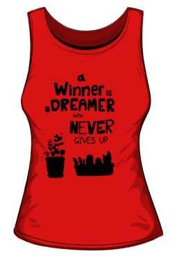 Winner dreamer top czerwony