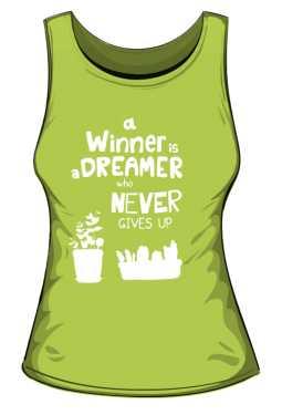 Winner dreamer top zielony