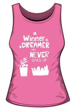 Winner dreamer top różowy