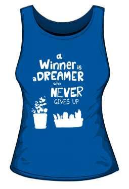 Winner dreamer top niebieski