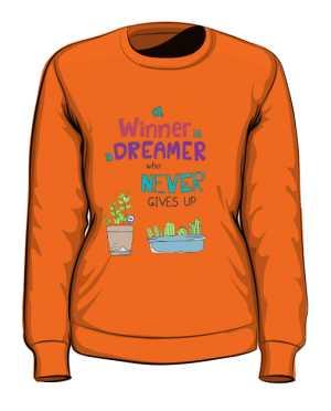 Winner dreamer bluza pomarańcz