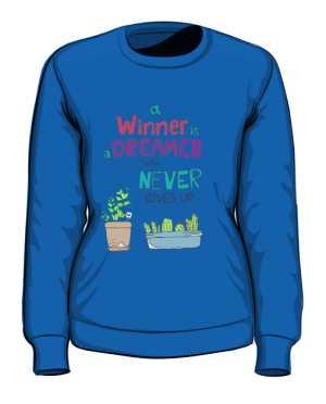 Winner dreamer bluza niebieska