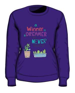 Winner dreamer bluza fiolet