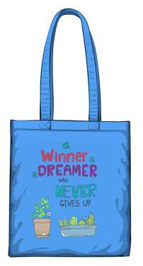 Winner dreamer torba niebieska