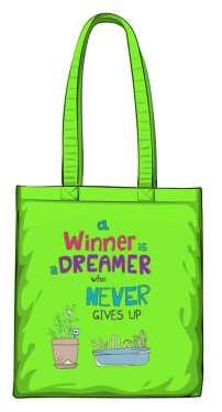 Winner dreamer torba zielona