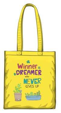 Winner dreamer torba żółta