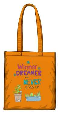 Winner dreamer torba pomarańczowa