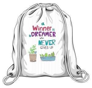 Winner dreamer plecak biały