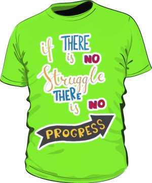 Struggle and progres basic zielona