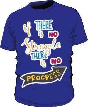 Struggle and progres basic fiolet