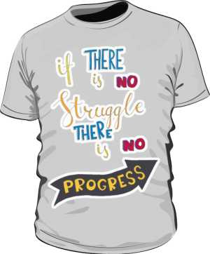 Struggle and progres basic szara