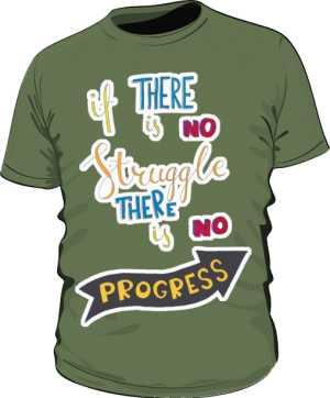 Struggle and progress basic khaki