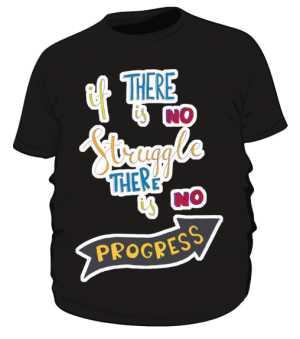 Sruggle and progres plus czarna