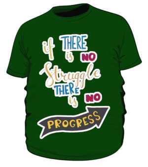 Struggle and progres plus zielona