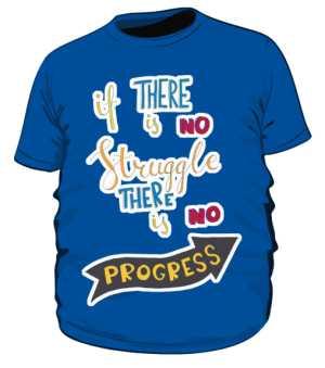 Struggle and progres plus niebieska