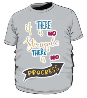Struggle and progres plus szara
