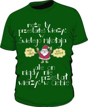Santa believer basic zielony