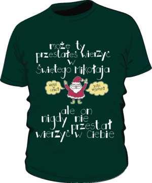 Santa believer premium zielona