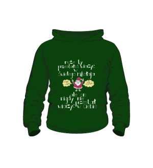 Santa believer bluza kids K zielony