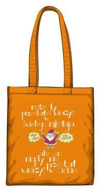 Santa believer torba pomarańczowa