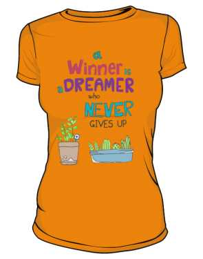 Winner dreamer basic pomarańcz