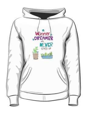 Winner dreamer bluza K biała