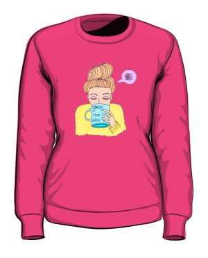 Mam kaca bluza różowa