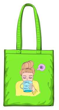 Mam kaca torba zielona