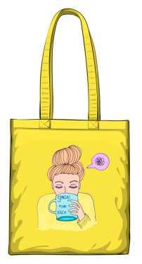 Mam kaca torba żółta