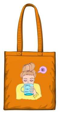 Mam kaca torba pomarańczowa