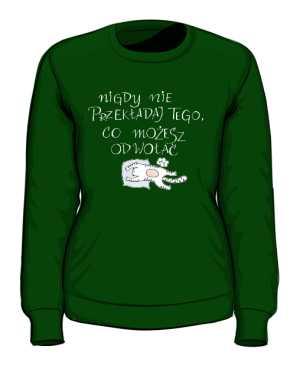 Odwołaj bluza zielona