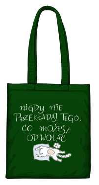 Odwołaj torba zielona