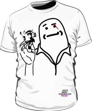 Koszulka Męska Scarface Biała