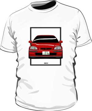 HONDA CIVIC EK4 ROMA RED